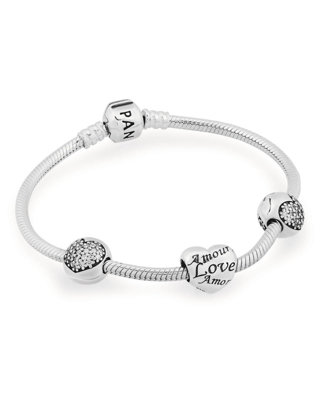 PANDORA Bracelet Gift Set - Love of My Life | Bloomingdale's