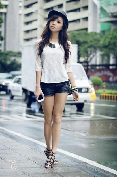 kryzuy shoes t-shirt hat jewels shorts