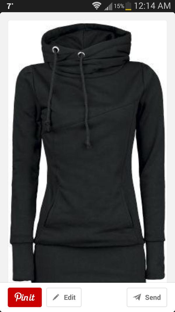 shirt sweatshirt black