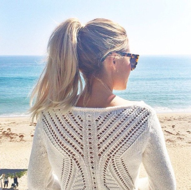top pullover white white top winter tops sunglasses winter outfits