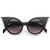 Trendy Unique Fashion Angel Wings Round Sunglasses 8581                           | zeroUV