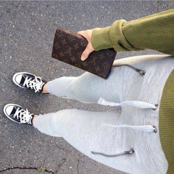 pants joggers sweatpants tumblr grey instagram fvkin