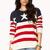 Oversized American Flag Sweater | FOREVER21 - 2000050386