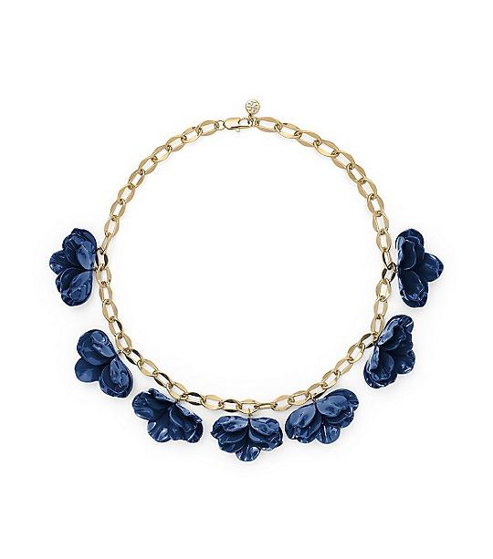 Pentier Multi Flower Necklace  | Womens Necklaces | ToryBurch.com