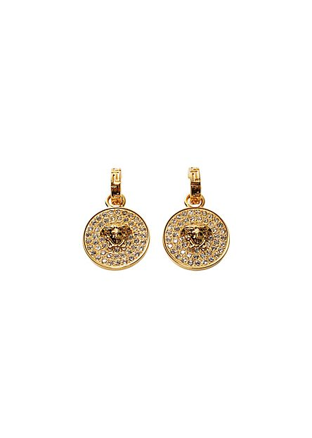 Versace Medusa Shimmering Earrings | Women'S Fashion Jewelry | Official Us Online Store