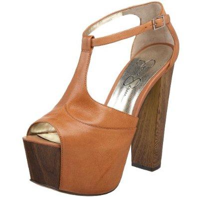 Amazon.com: Jessica Simpson Women's Dany Platform Sandal,Light Tan,10 M US: Jessica Simpson: Shoes