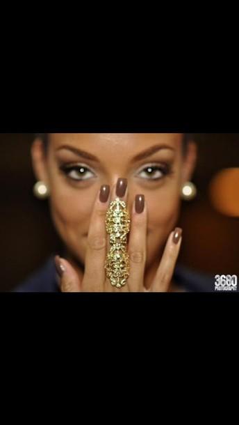 jewels armor ring