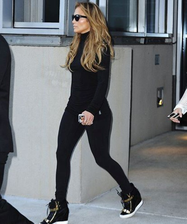 shoes jennifer lopez leggings