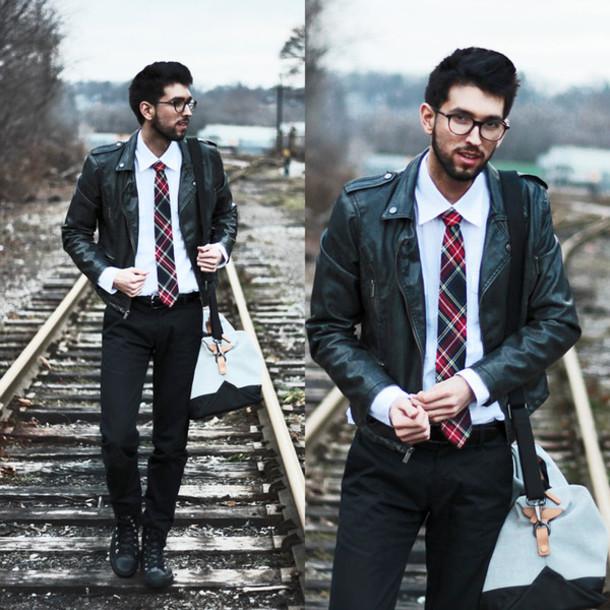 bobby raffin blogger tie menswear mens jacket mens accessories hipster menswear shirt bag mens leather jacket mens chino pants mens messenger bag
