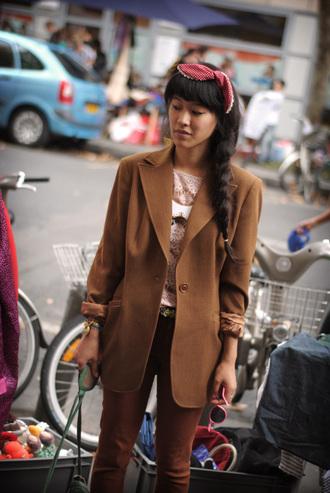 jacket brown jacket leeloo