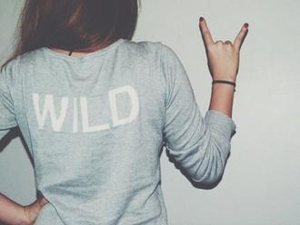 sweater jacket wild shirt grey blouse grey sweater brunette sweatshirt sweatshirts
