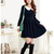 Cheap japanese style students collar big size dress k1012725 RoyalBlue Sale