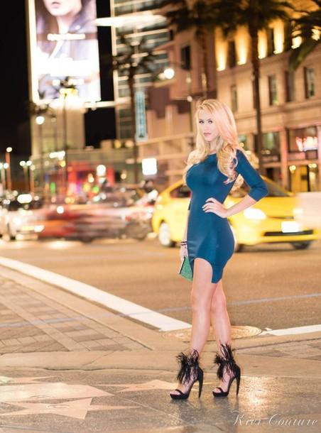 fashion addict blogger sandals bodycon dress black heels dress shoes bag jewels