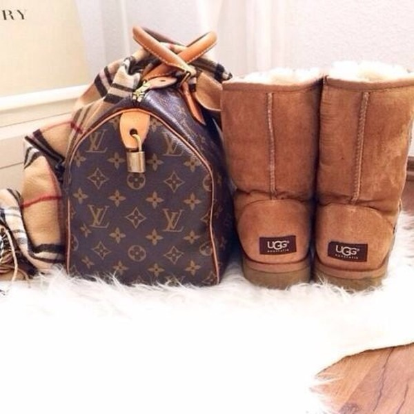 bag shoes scarf