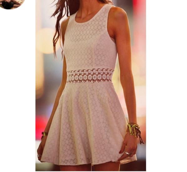 dress cute dress summer dress white dress