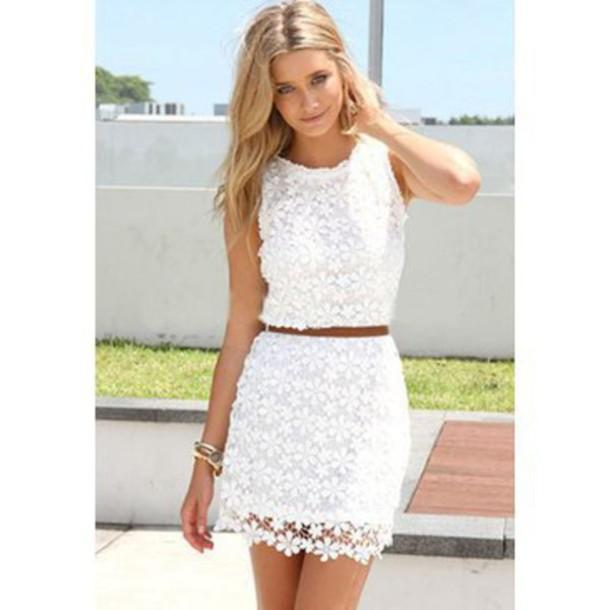 Famous skirt, dress, sexy dress, lace dress, cute skirt, beautiful, white  JQ11
