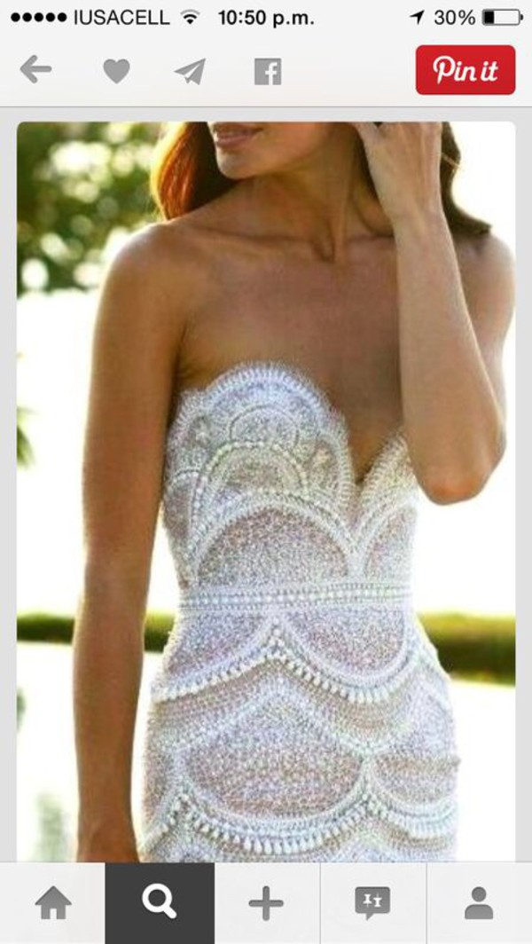 dress white dress lace dress embroidered embroidered