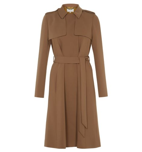 Brown Abby Trench coat | Trench coats | Coats and Jackets | Hobbs USA