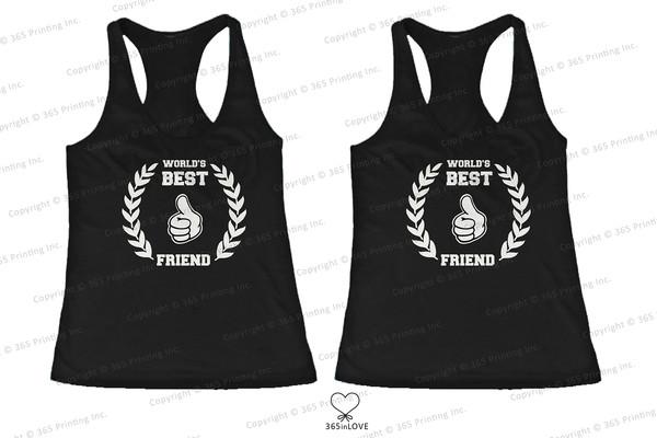 tank top bff bff bff shirts bff tank tops matching tank tops matching shirts for best friends humor tank tops humor shirts thumbs up bff bff