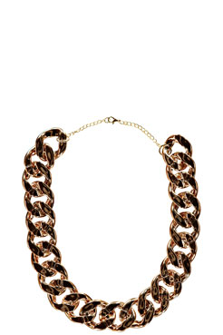 Stacey Chunky Chain Necklace at boohoo.com