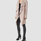 Allsaints uk: womens hace trench coat (dusty pink)