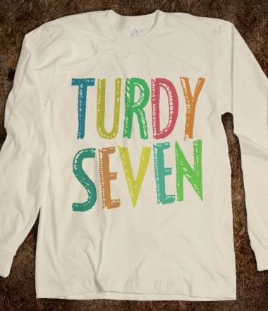 Turdy Seven  - One Direction Apparel - Skreened T-shirts, Organic Shirts, Hoodies, Kids Tees, Baby One-Pieces and Tote Bags Custom T-Shirts, Organic Shirts, Hoodies, Novelty Gifts, Kids Apparel, Baby One-Pieces | Skreened - Ethical Custom Apparel