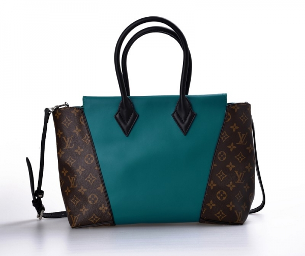 LV (Louis Vuitton) Womens Monogram Canvas with Blue Leather M40941 W PM Handbags AAA-40848 (US$ 256.94 / US$ 249.9) & Customer Reviews and Ratings