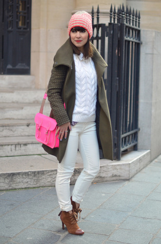 bag shoes valentine neon satchel bag