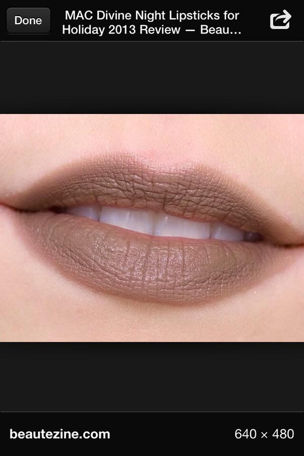 nail polish lipstick mac cosmetics grey