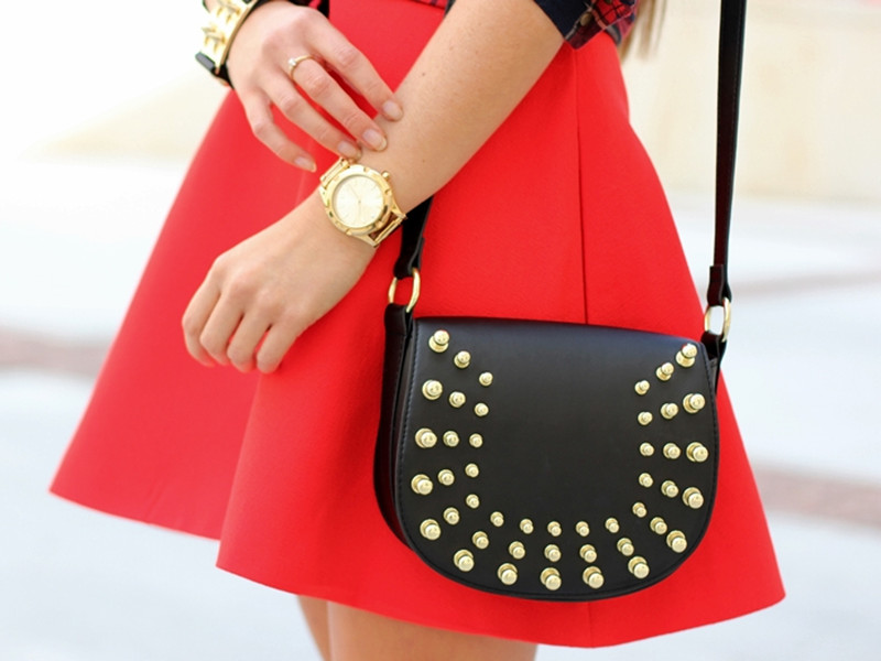 Cute Red Dress With Wavy | Choies