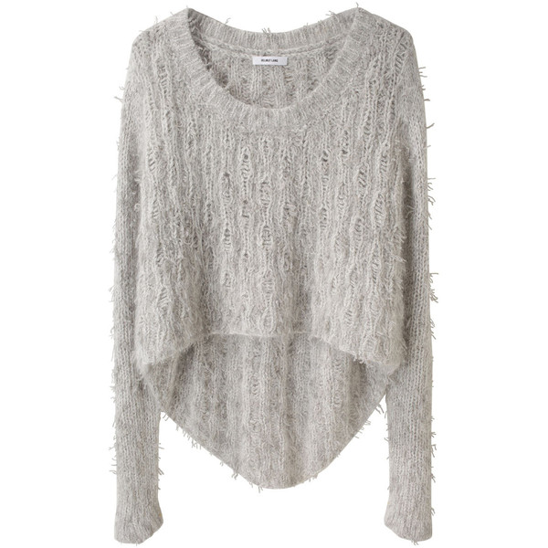 Helmut Lang Angora Floats Pullover - Polyvore