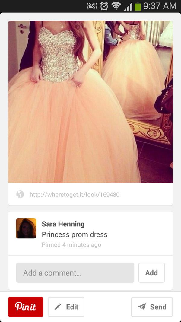 dress sparkly dress gold sequins princess prom dress