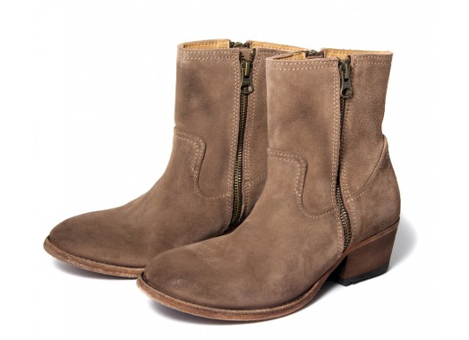 Ladies Riley (Rust) Suede Ankle Boot   H by Hudson