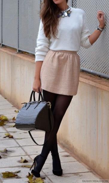 skirt pink skirt girly tights pretty