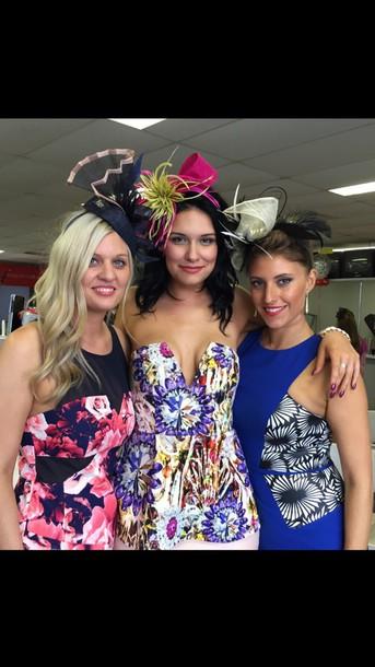dress floral ombré dress