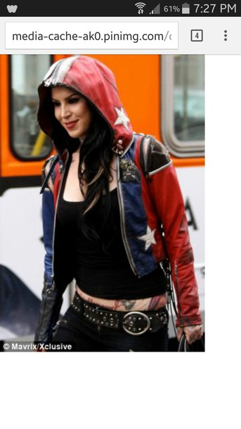jacket leather jacket kat von d american flag jacket