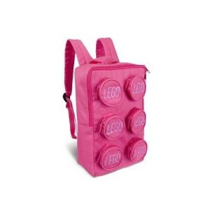 Amazon.com : LEGO Brick Backpack Pink : Toy Interlocking Building Sets : Toys & Games