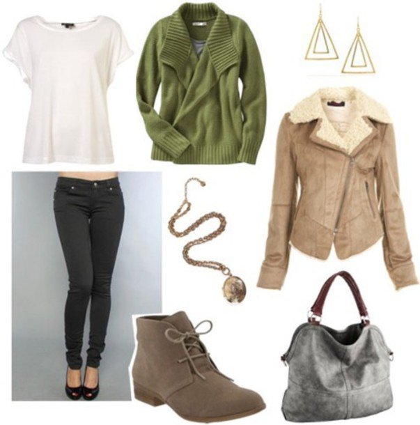 jacket winter outfits