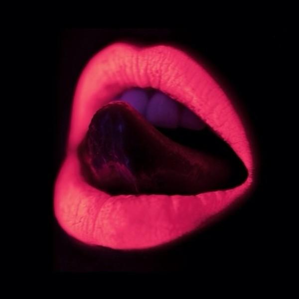 jewels lipstick neon fluorescent lips