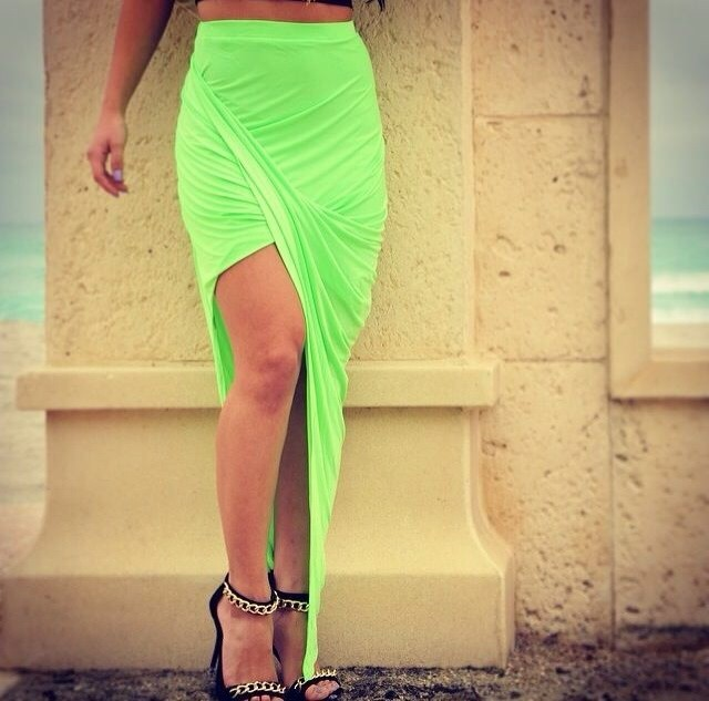 Free Shipping 2014  Fashion Irregular sexy  skirts bottoms FT740-in Skirts from Apparel & Accessories on Aliexpress.com