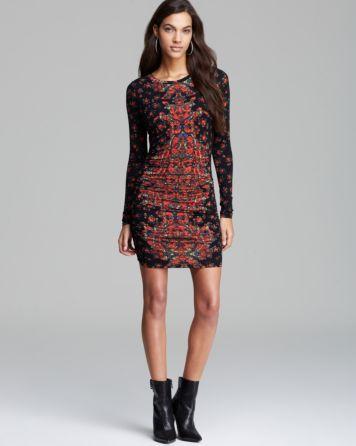 GUESS Dress - Mini Rose Print | Bloomingdale's