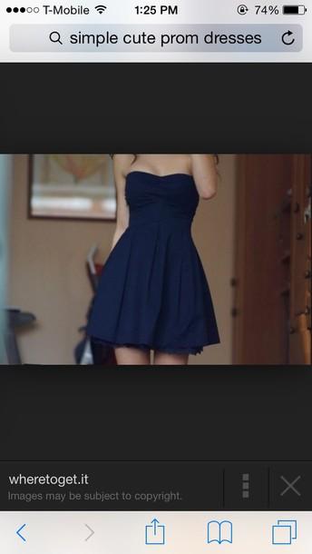 dress cute simple prom dress