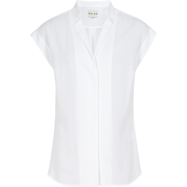 Reiss Diego Stitch Detail Shirt - Polyvore
