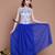 A-line Chiffon Ruffles Print Vintage Tank Dress : KissChic.com