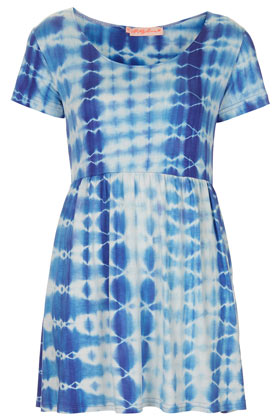 **Tie Dye T-Shirt Dress by Oh My Love - Dresses - Clothing - Topshop