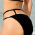 Solid Color Sexy Halterneck Hollow Out Bikini Swimwear For Women : KissChic.com