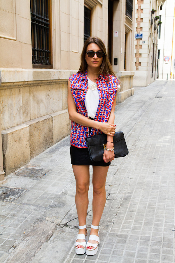 style and trouble jacket skirt shoes sunglasses bag jewels