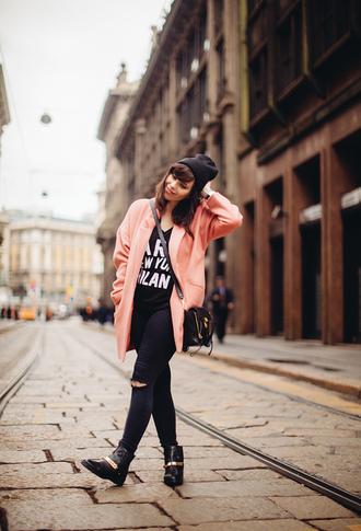 wish wish wish coat t-shirt jeans hat shoes bag