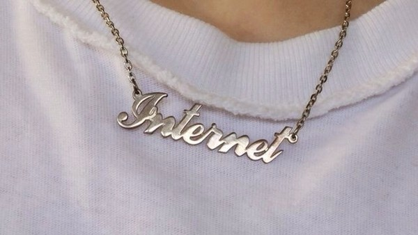 jewels internet tumblr tumblr girl necklace jewerly gold fashion funny soft ghetto cyber ghetto