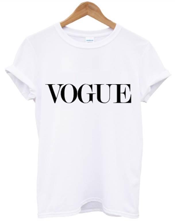 Vogue T Shirt White Celine Celfie Top Unisex Women Men Swag Dope Hipster Alone | eBay
